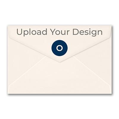 (A9) Outer Single Envelope, Ecru, Offset