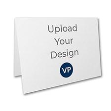 4 7/8 x 3 1/2 (A1) Top Fold Card, Digital Variable Print