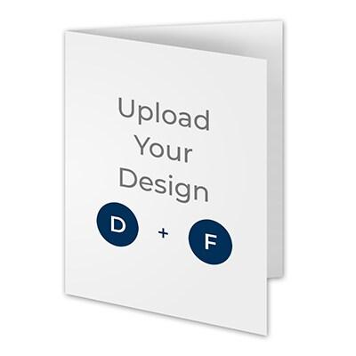 4 1/4 x 5 1/2 (A2) Side Fold Card, Digital and Foil