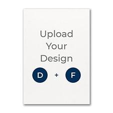 4 9/16 x 6 9/16 (R5) Flat Card, Digital and Foil