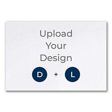 8 3/4 x 6 (R3) Flat Card, Digital and Letterpress
