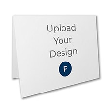 5 1/2 x 4 1/4 (A2) Top Fold Card, Foil