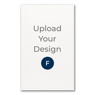5 3/4 x 9 1/4 (A10) Flat Card, Foil