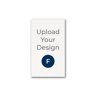 1 3/4 x 3 (R8) Flat Card, Foil