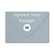 (A1) Euro Envelope, Steel, White Ink