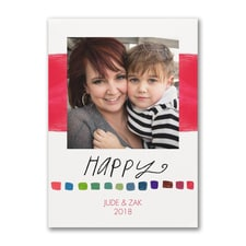 Happy Holiday - Photo Card