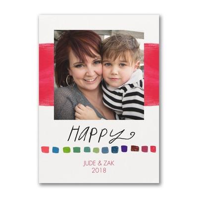 Happy Holiday - Photo Card