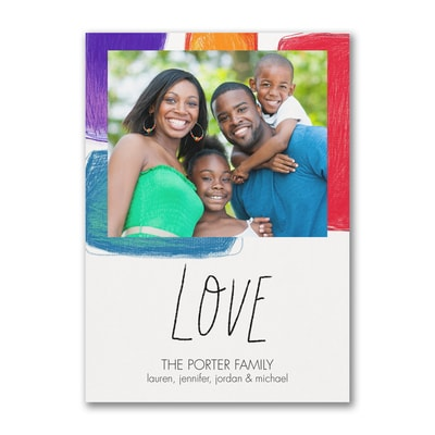 Love Holiday - Photo Card