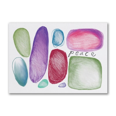 Peace Holiday Greeting Card