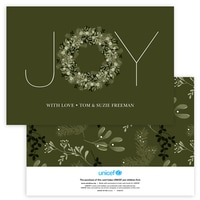 Joy Typography in Green