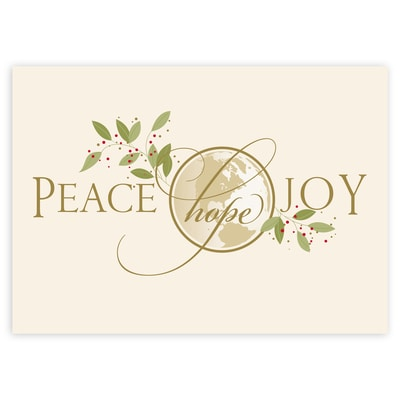 Peace Hope Joy