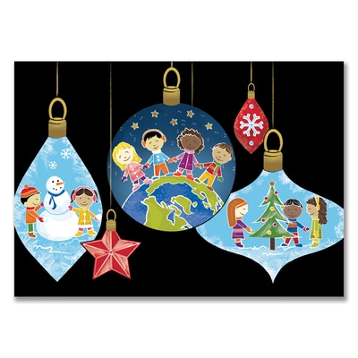 Children of the World Ornaments