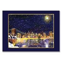 Moonlit New York