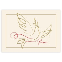 Gold Dove of Peace