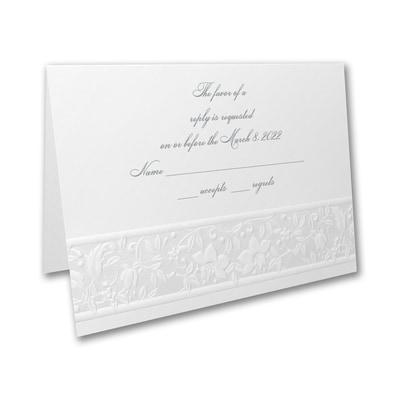 Romantic Treasure - Response Card and Envelope
