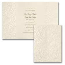 True Damask - Invitation