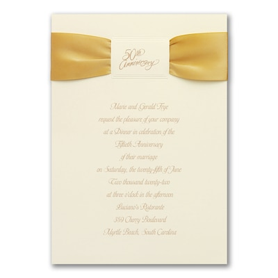 Golden Years - Invitation