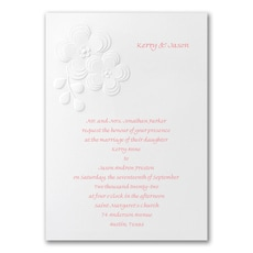 Fun & Flirty  - affordable and cheap invitation