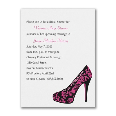 Show Love is True Love - Shower Invitation