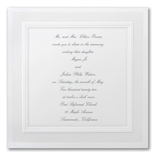Picture Perfect - Square Invitation
