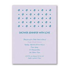 Falling Drops of Love - Shower Invitation