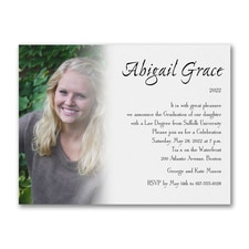 All About Me - Graduation Card
