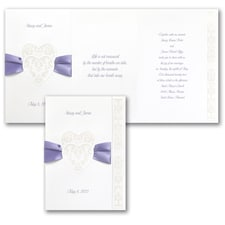 ribbon invitation: Promises to Keep