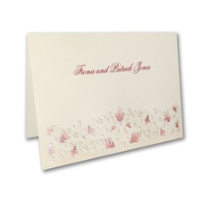 Falling Fantasy - Thank You Note and Envelope