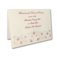 Falling Fantasy - Reception Card