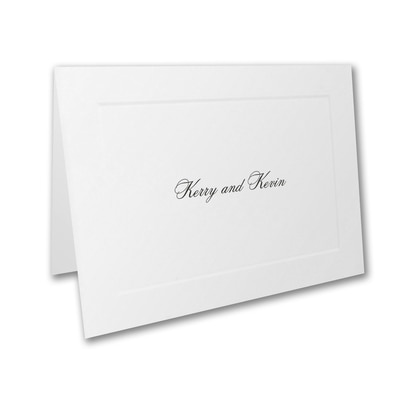Traditional Border - Thank You Note