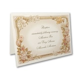 Roses & Romance - Reception Card