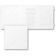 Rose Border - Invitation