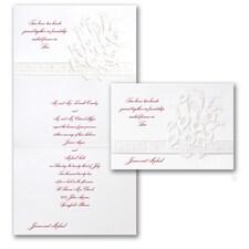 Calla Lily & Hearts - Invitation
