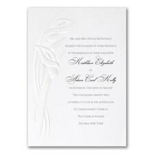 Calla Lily Detail - Invitation