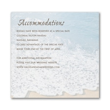 Sandy Toes - Accommodation Card