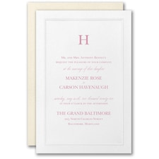 Elegant Wedding Invitations: Regal Affair Invitation