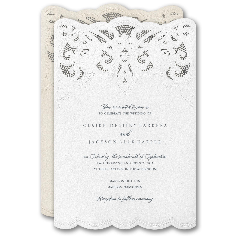 Modern Wonder Invitation > Invitation Suites | Carlson Craft ...