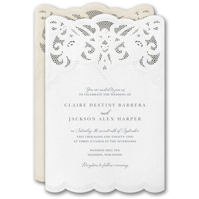 Modern Wonder Invitation
