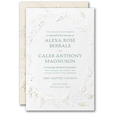 : Wrapped in Foliage Invitation