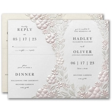 With RSVP Cards: Floral Garden Sep