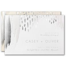 : Brushstroke Beauty Invitation