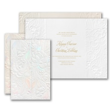 Wedding Invitation: Enchanted Blooms Invitation