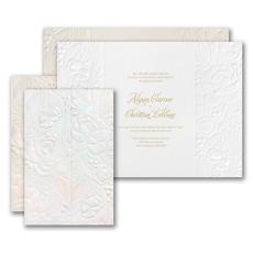 Enchanted Blooms Invitation  - Wedding Invitation