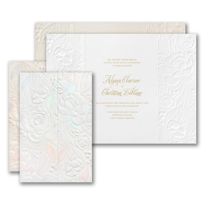 Enchanted Blooms Invitation
