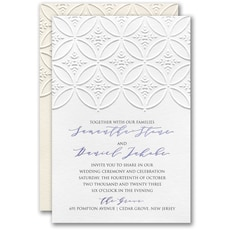 : Patterned Splendor Invitation
