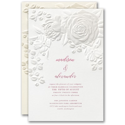 Floral Bouquet Invitation