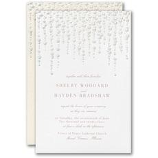 : Glistening String Lights Invitation