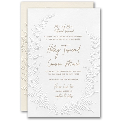 Fetching Fern Invitation