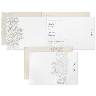 Rose Bouquet Invitation