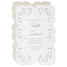 Ornate Flourish Invitation